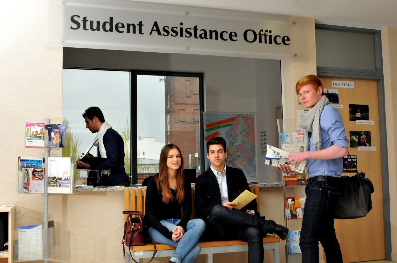 biuro SAO (Student Assistance Office) na IFE