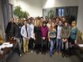 EPS-Novembre 2014-Groupe EPS avec ses tuteurs