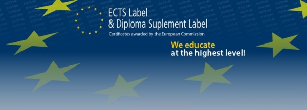 Baner ECTS Label i Diploma Supplement Label